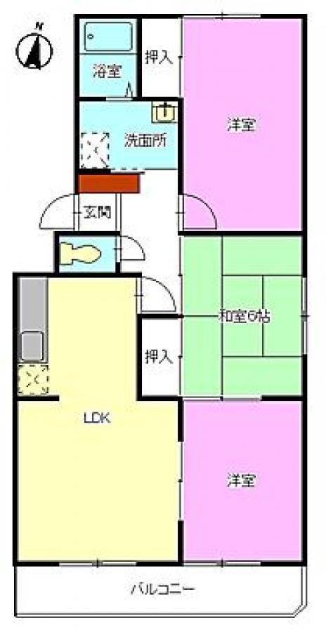 賃貸マンションレジデンスSHの画像1