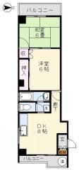 賃貸マンション松本ビルの間取り図画像3
