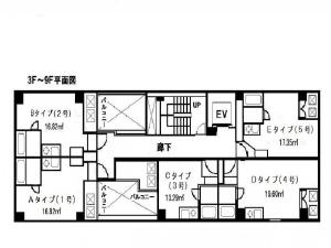 賃貸マンションウェンディ京橋川の画像2