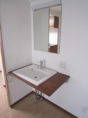 賃貸マンションハイネス国泰ビルの洗面台画像7
