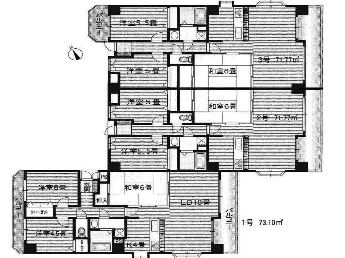 賃貸マンションガーデンビュー天野の画像2