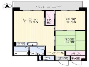 賃貸マンション松村マンションの間取り図画像3