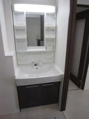 賃貸マンションシャトレ三陽の洗面台画像12