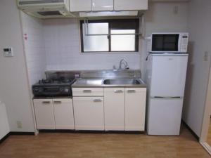 賃貸マンションリバーハンドビルのキッチン画像5
