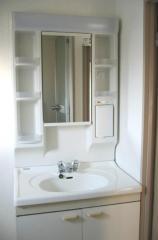 賃貸マンションツルミハイツの洗面台画像6