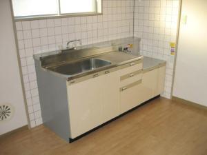 賃貸マンションツルミハイツのキッチン画像5
