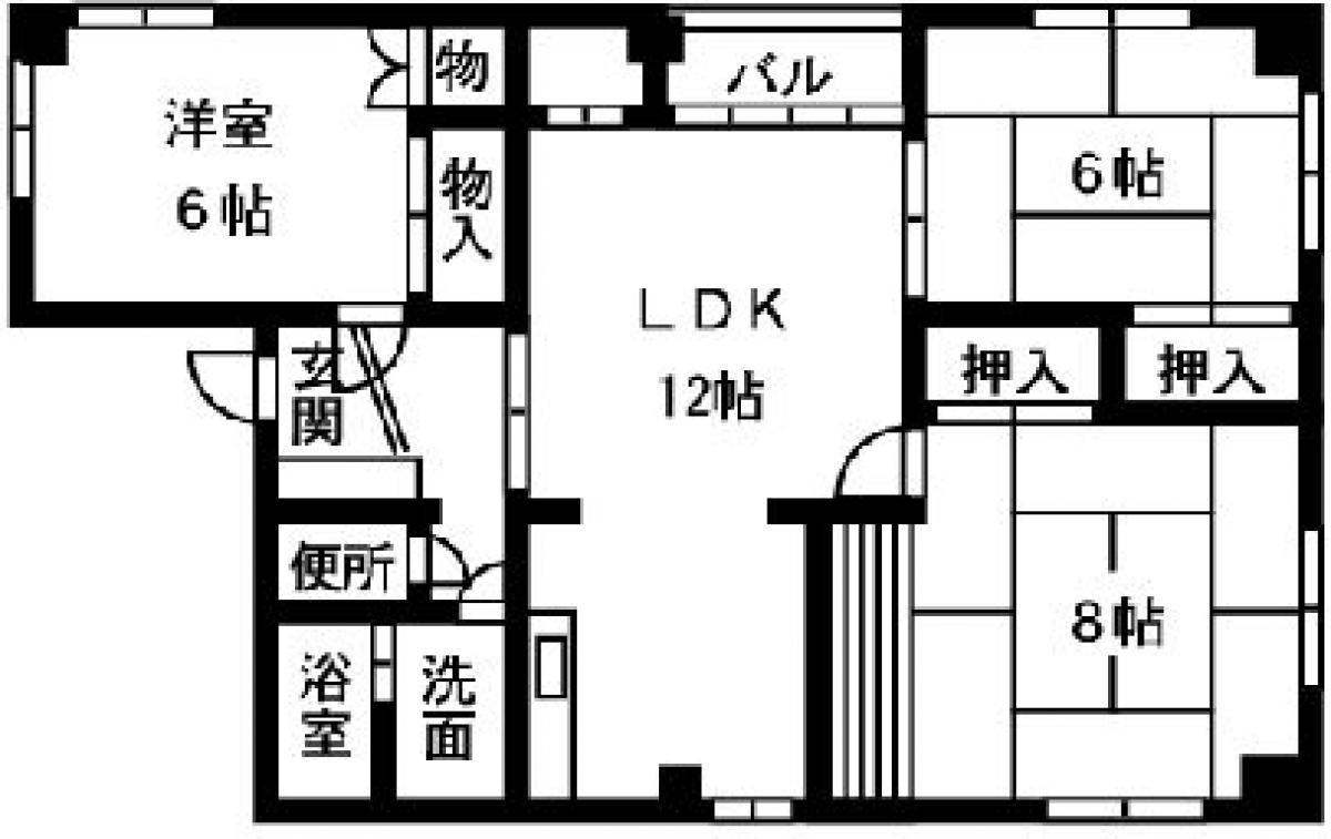 賃貸マンション原田ビルの画像2