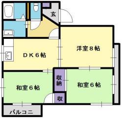 賃貸アパートエメンデフ吉島の画像2